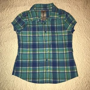 Other - 💕4 for $21💕 Plaid Girls Blouse
